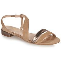 Zapatos Mujer Sandalias Betty London OCOLI Beige