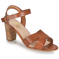 Zapatos Mujer Sandalias Betty London OCOLA Camel