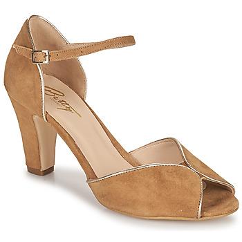 Zapatos Mujer Sandalias Betty London ORAD Camel