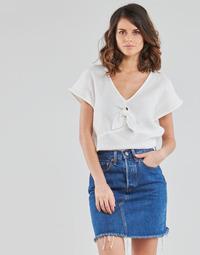 textil Mujer Tops / Blusas Betty London ODIME Blanco
