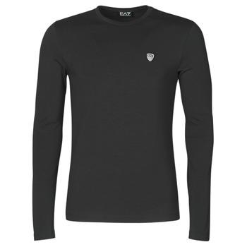 textil Hombre Camisetas manga larga Emporio Armani EA7 8NPTL9-PJ03Z-1200 Negro