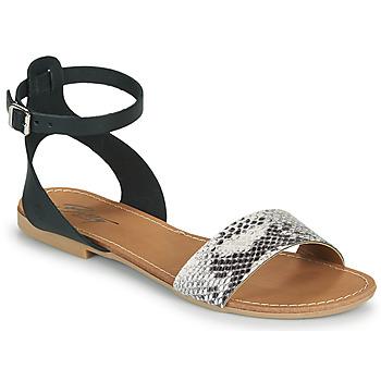 Zapatos Mujer Sandalias Betty London GIMY Negro / Gris
