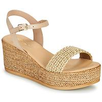 Zapatos Mujer Sandalias Betty London OFINI Beige