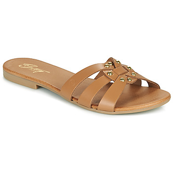 Zapatos Mujer Zuecos (Mules) Betty London OISO Camel