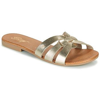 Zapatos Mujer Zuecos (Mules) Betty London OIGILE Oro