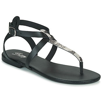 Zapatos Mujer Sandalias Betty London ORIOUL Negro / Gris