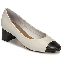 Zapatos Mujer Zapatos de tacón Betty London OMINA Blanco / Negro