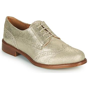 Zapatos Mujer Derbie Betty London CODEUX Oro