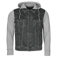 textil Hombre Chaquetas denim Only & Sons  ONSCOIN Negro