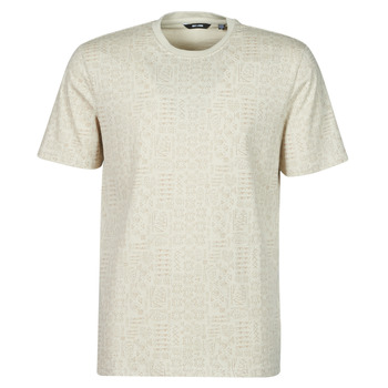 textil Hombre Camisetas manga corta Only & Sons  ONSBAXEL Beige