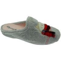 Zapatos Mujer Pantuflas Riposella RIP4592gr grigio