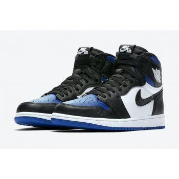 Zapatos Zapatillas altas Nike Air Jordan 1 Game Royal Black/White-Game Royal-Black