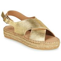 Zapatos Mujer Sandalias Minelli MEPLATINE Oro