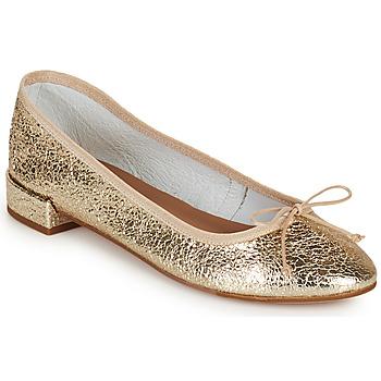 Zapatos Mujer Bailarinas-manoletinas Minelli PLIVIA Oro