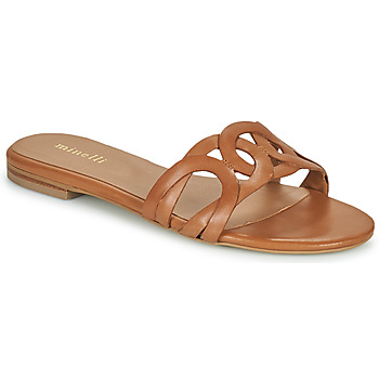 Zapatos Mujer Zuecos (Mules) Minelli NANCIA Marrón