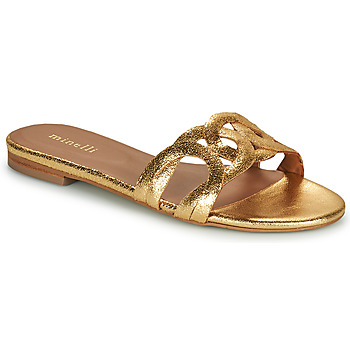 Zapatos Mujer Zuecos (Mules) Minelli NANCIA Oro