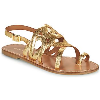 Zapatos Mujer Sandalias Minelli NOUNNA Oro