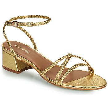 Zapatos Mujer Sandalias Minelli HARIETTE Oro