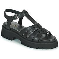 Zapatos Mujer Sandalias Minelli HELLHA Negro