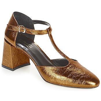 Zapatos Mujer Zapatos de tacón Minelli GAELANE Bronce