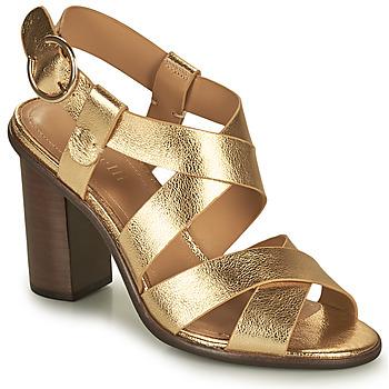 Zapatos Mujer Sandalias Minelli THIYA Oro