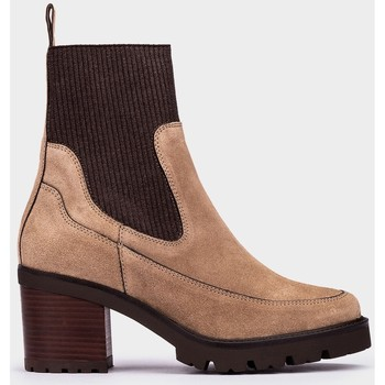 Zapatos Mujer Botines Pedro Miralles Yale Beige