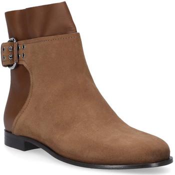 Zapatos Mujer Botas de caña baja Jimmy Choo MAJOR FLAT Marrone chiaro