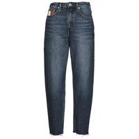 textil Mujer Vaqueros boyfriend Tommy Jeans MOM JEAN HIGH RISE TAPERED VLTDK Azul