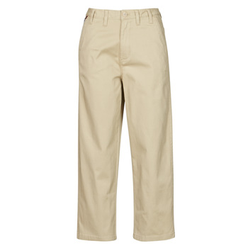 textil Mujer Pantalones chinos Tommy Jeans TJW HIGH RISE STRAIGHT Beige