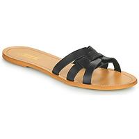 Zapatos Mujer Zuecos (Mules) So Size MELINDA Negro