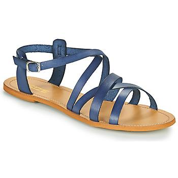 Zapatos Mujer Sandalias So Size IDITRON Marino