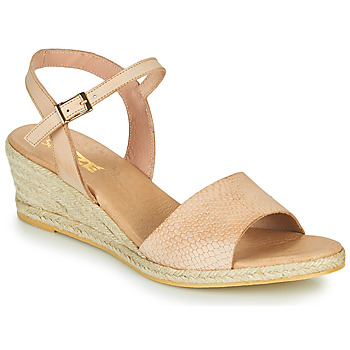 Zapatos Mujer Sandalias So Size OTTECA Beige