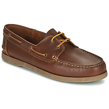 Zapatos Hombre Zapatos náuticos So Size MALIK Tan
