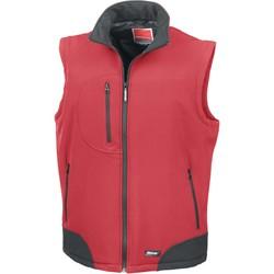 textil Chaquetas de punto Result Doudoune Sans Manche  Softshell rouge/noir