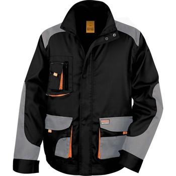 textil Hombre cazadoras Result Veste  Lite noir/gris/orange