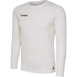 textil Hombre Camisetas manga larga Hummel Maillot  manches longues First Performance HML blanc