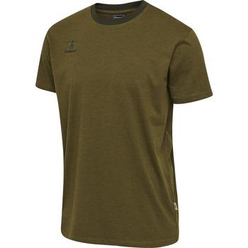 textil Niños Camisetas manga corta Hummel T-shirt enfant  Lmove vert foncé