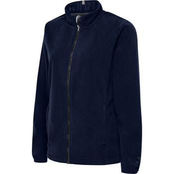 textil Mujer Polaire Hummel Veste femme  full zip North Fleece bleu marine