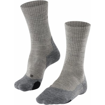 Accesorios Hombre Calcetines Falke Chaussettes  TK2 Wool gris sable