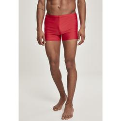 textil Hombre Shorts / Bermudas Urban Classics Maillot de bain Urban Classic trunk rouge