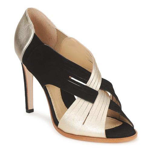 Zapatos Mujer Zapatos de tacón Moschino MINEK Negro / Oro