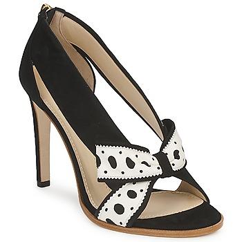 Zapatos Mujer Zapatos de tacón Moschino DELOS ESCA Negro / Marfil