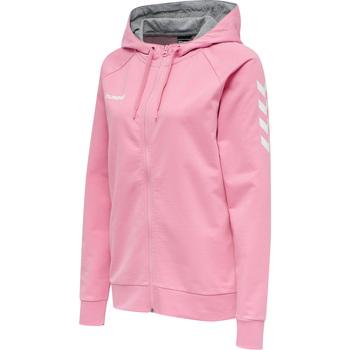 textil Mujer Sudaderas Hummel Veste à capuche femme  Hmlgo Zip rose