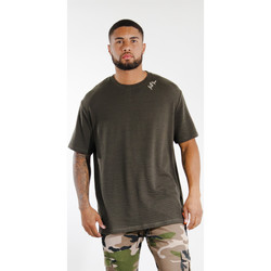 textil Hombre Camisetas manga corta Sixth June T-shirt  logo épaule kaki