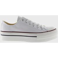 Zapatos Zapatillas bajas Victoria Baskets  tribu double toile blanc