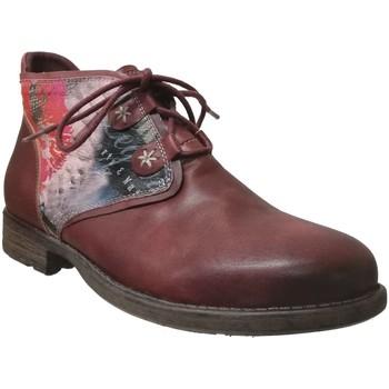 Zapatos Mujer Botas de caña baja Laura Vita TESSA Cuero burdeos