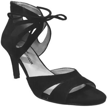 Zapatos Mujer Sandalias Brenda Zaro F2042 negro