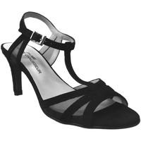 Zapatos Mujer Sandalias Brenda Zaro F2039 Terciopelo negro