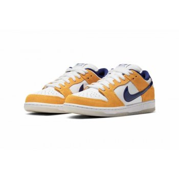 Zapatos Zapatillas bajas Nike Air Force 1 high x Comme des Garçons White/Regency Purple-Laser Orange
