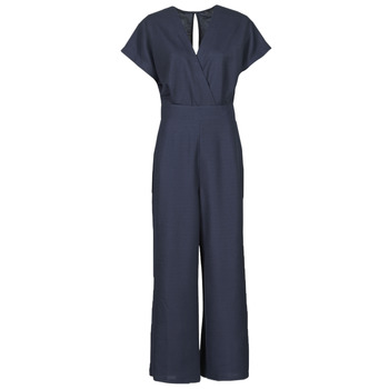textil Mujer Monos / Petos Esprit OVERALLS KNITTED Azul